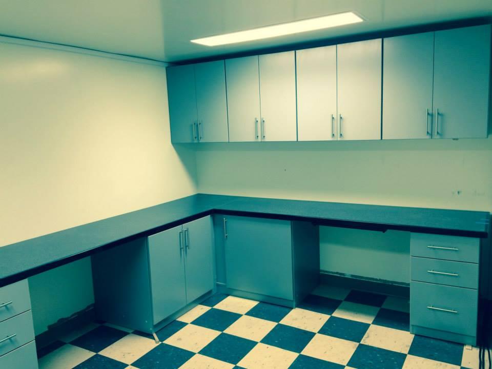 Commercial Job - Vallejo - Alpine Cabinet Company