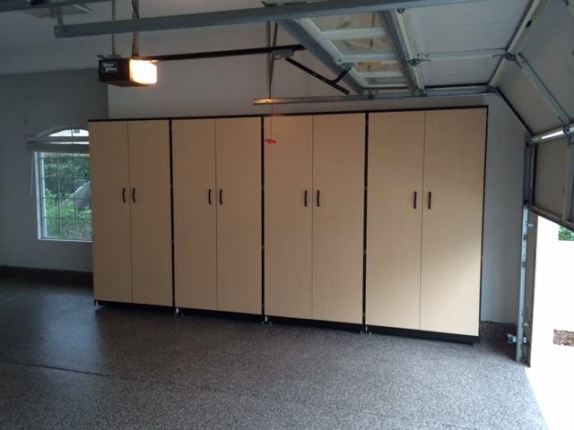 Nice Big Garage Alpine Cabinet Company
