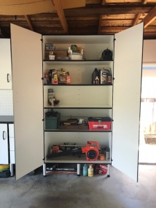 image of cabinets installed